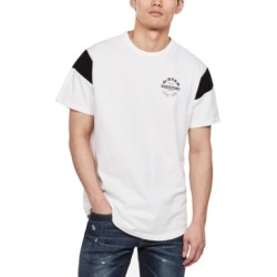 G-Star Raw Men's Blocked Sleeve Logo T-Shirt, Created for Macy's found on MODAPINS from Macy's Australia for USD $24.90