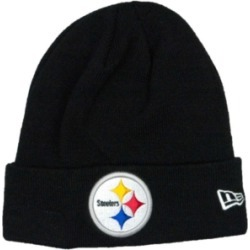 New Era Pittsburgh Steelers Basic Cuff Knit found on Bargain Bro Philippines from Macy's for $24.99