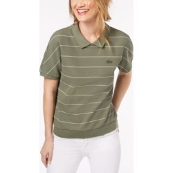 Lacoste Striped Cotton Polo Shirt found on MODAPINS from Macy's for USD $125.00