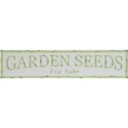 """Vip Home International Metal """"Garden Seeds"""" Sign"""