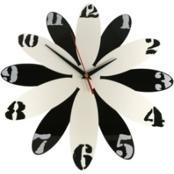 Creative Motion Clock with Black and White Numeric Number on The Clock Face Acrylic