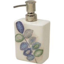 Croscill Mosaic Leaves Spa Lotion Dispenser Bedding found on Bargain Bro Philippines from Macy's for $40.00