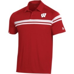 Under Armour Men's Wisconsin Badgers Tour Drive Polo found on Bargain Bro Philippines from Macy's for $43.00