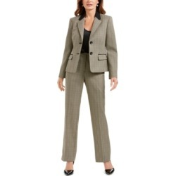Le Suit Plaid Print Pantsuit found on Bargain Bro Philippines from Macy's Australia for $253.73