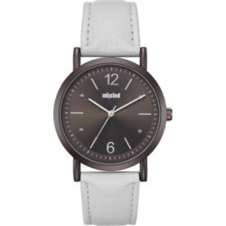 Unlisted Men's White Synthetic Leather Sport Watch, 36.5MM found on Bargain Bro India from Macy's Australia for $35.05