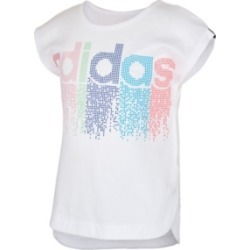 adidas Big Girls Short Sleeve Slit T-shirt found on Bargain Bro Philippines from Macy's for $18.75
