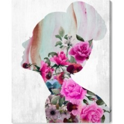 "Oliver Gal Flower Built Canvas Art, 17"" x 20"""