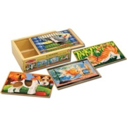 Melissa and Doug Pets Puzzles in a Box found on Bargain Bro Philippines from Macy's for $11.99