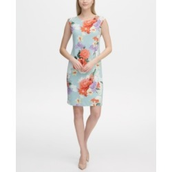 4f695fd8 Calvin Klein Floral-Print Sheath Dress found on MODAPINS from Macy's for  USD $59.70