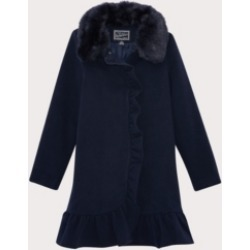 S Rothschild & Co Big Girls Ruffle Dress Coat with Collar found on Bargain Bro India from Macy's for $72.00