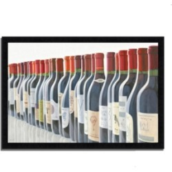 Tangletown Fine Art Splendid Reds by Marco Fabiano Framed Painting Print, 46