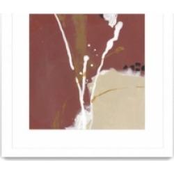 "Giant Art Molecular Dynamics Iii Matted and Framed Art Print, 36"" x 36"""