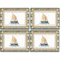 Pimpernel Coastal Breeze Set of 4 Placemats