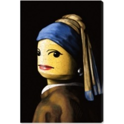 Oliver Gal Toy with The Pearl Earring Canvas Art, 30