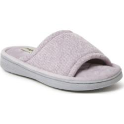 Dearfoams Women's Anne Chenille Slide Slippers
