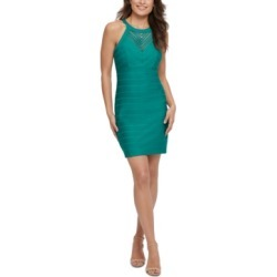 Guess Sheer-Inset Bodycon Dress found on MODAPINS from Macy's for USD $49.99