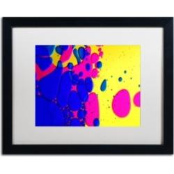 Beata Czyzowska Young 'Color Fun Iv' Matted Framed Art - 16