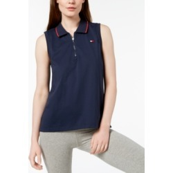 Tommy Hilfiger Sport Sleeveless Zipper Polo Shirt, Created for Macy's found on MODAPINS from Macy's for USD $15.53