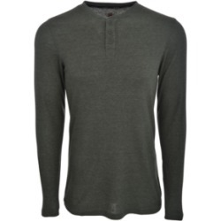 Hanes Men's Sueded Mini Waffle Knit Henley found on Bargain Bro India from Macy's for $25.00