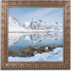 Michael Blanchette Photography Fjord Reflection Ornate Framed Art - 2