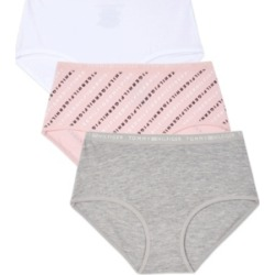 Tommy Hilfiger Big Girls Diagonal Logo Hipster Underwear, 3 Pack found on Bargain Bro India from Macy's for $24.00
