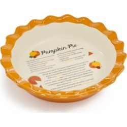 Martha Stewart Collection Ceramic Pumpkin Pie Dish, Created for Macys found on Bargain Bro India from Macy's Australia for $35.84