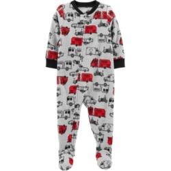 Carter's Toddler Boy 1-Piece Cars Fleece Footie PJs found on Bargain Bro India from Macy's for $12.00