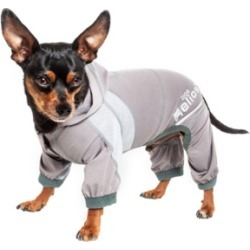 Dog Helios Namastail Breathable Full Body Performance Yoga Dog Hoodie Tracksuit