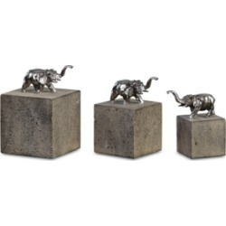Uttermost Tiberia Set of 3 Elephant Sculptures found on Bargain Bro India from Macy's for $125.99