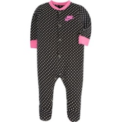 Nike Baby Girls Footed Coverall found on Bargain Bro India from Macy's for $18.00