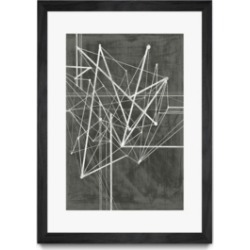 """Giant Art Vertices I Matted and Framed Art Print, 36"""" x 52"""""""