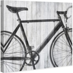 Oliver Gal Mode Bicycle Canvas Art, 24