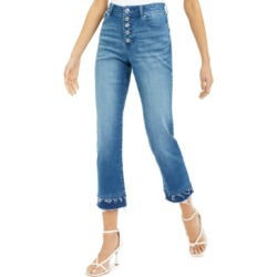 Inc Double-Hem Cropped Straight-Leg Jeans, Created for Macy's found on MODAPINS from Macys CA for USD $43.93
