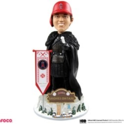 Forever Collectibles Shohei Ohtani Los Angeles Angels Game Of Thrones Nights Watch Bobblehead found on Bargain Bro India from Macy's for $60.00