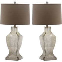 Safavieh Glass Bottom Set of 2 Table Lamps found on Bargain Bro from Macy's for USD $174.04