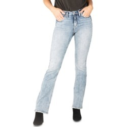 Silver Jeans Co. Avery High-Rise Slim Bootcut Jeans found on MODAPINS from Macy's for USD $89.00