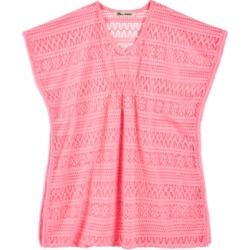 Miken Big Girls Crochet Cover Up
