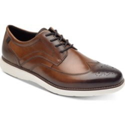 Rockport Men's Garett Leather Wingtip Oxfords Men's Shoes found on Bargain Bro from Macy's Australia for USD $48.61