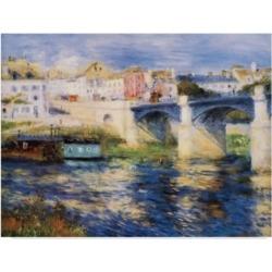 """Masters Collection 'Le Pont A Chatou' Canvas Art - 19"""" x 14"""""""