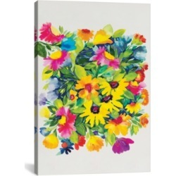 """iCanvas """"Late Summer'S Bouquet"""" By Kim Parker Gallery-Wrapped Canvas Print - 40"""" x 26"""" x 0.75"""""""