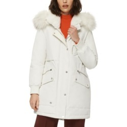 Marc New York Carina Faux-Fur-Trim Hooded Parka Coat found on MODAPINS from Macys CA for USD $358.55