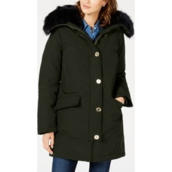 Michael Michael Kors Faux-Fur Trim Down Parka Coat, Created for Macy's found on MODAPINS from Macy's Australia for USD $180.47