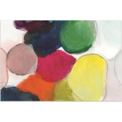 Empire Art Direct 'The Party Abstract' Frameless Free Floating Tempered Glass Panel Graphic Wall Art - 48