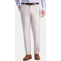 Haggar Men's Premium Comfort Khaki Classic-Fit 2-Way Stretch Wrinkle Resistant Flat Front Stretch Casual Pants found on MODAPINS from Macys CA for USD $36.68