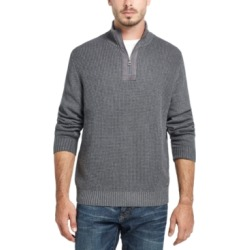 Weatherproof Vintage Men's Waffle Texture Quarter-Zip Sweater found on MODAPINS from Macys CA for USD $26.27