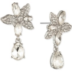 Givenchy Crystal Flower Drop Earrings found on Bargain Bro India from Macy's for $40.80