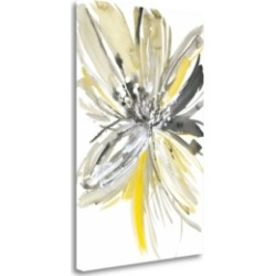 Tangletown Fine Art A Sunny Bloom by Rebecca Meyers Fine Art Giclee Print on Gallery Wrap Canvas, 27