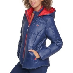 Tommy Hilfiger Sport Box-Quilted Hooded Puffer Coat found on Bargain Bro India from Macy's for $77.70