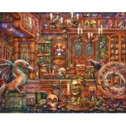 Springbok Puzzles Magic Emporium 500 Piece Jigsaw Puzzles