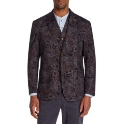 Tallia Men's Slim-Fit Stretch Paisley Knit Blazer found on MODAPINS from Macy's for USD $58.93